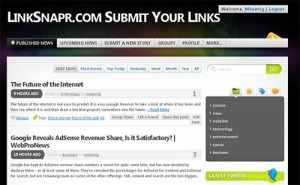 LinkSnapr Submit Links