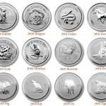 Asian Lunar Coins
